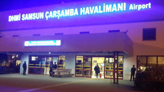 Samsun Çarşamba Havalimanı 7 Kasım'da yeniden faaliyete geçiyor