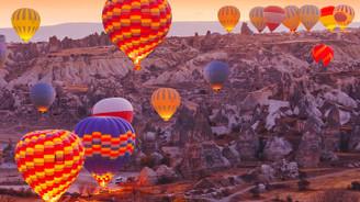 Kapadokya yerli balon ile uçmaya hazırlanıyor