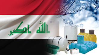 Iraklı müşteri 50.000 ad. PE su tankı talep ediyor