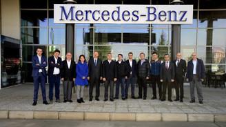 Mercedes-Benz Türk, OSD üyelerini ağırladı