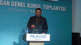 MÜSİAD Kayseri'de Nedim Olgunharputlu güven tazeledi