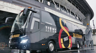 Galatasaray'ın yeni takım otobüsü