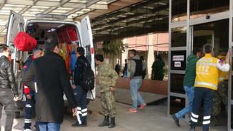 El Bab'ta 3 asker yaralandı