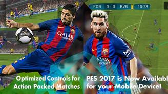 PES 2017 android ve iOS için 'kısmen' yayınlandı