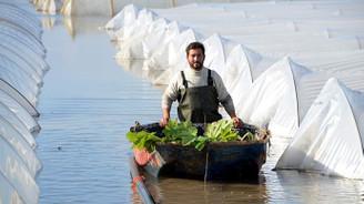 Mersin'de sel 175 milyon liralık zarara yol açtı