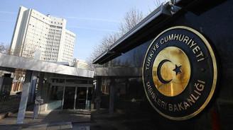 Dışişleri Bakanlığından Yunan Bakan'a kınama