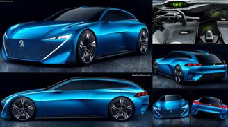 Peugeot Instinct Concept ile farklı sürüş modu