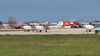 Samsun'da uçak kazası