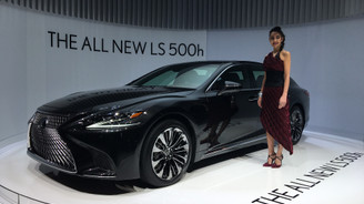 Lexus Cenevre'de yeni LS 500H'i tanıttı