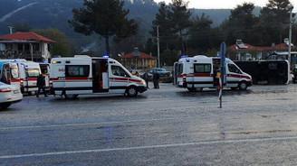 Kütahya'da yolcu otobüsü devrildi: 24 yaralı