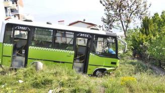 Yolcu otobüsünün freni patladı: 22 yaralı