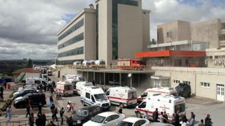Tıp Fakültesi Hastanesinde yangın