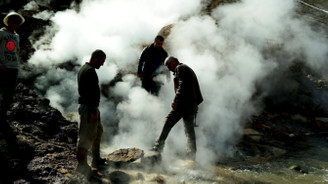 Jeotermal kaynakta patlama