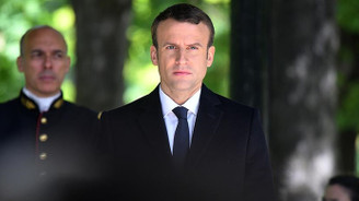 Macron'un ilk ziyareti Almanya'ya