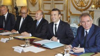 Macron, ilk Bakanlar Kurulu'nu topladı