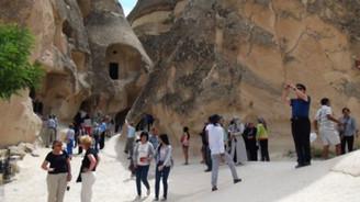 Kapadokya'da tatil yoğunluğu