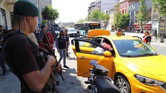 Ticari taksilere denetim