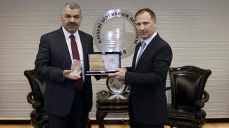 Kayseri Büyükşehir Belediyesi'ne ödül