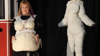 Ethel Mulinas'ın kilo verme yolculuğu sahnede
