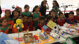 Kayseri'de Stem&Maker Bilim Festivali açıldı