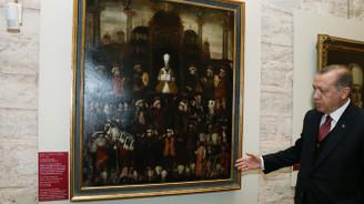 Sultan 2. Osman'ın Cülus-ı Hümayun Tablosu Topkapı Sarayı'nda