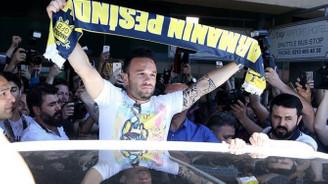 Fenerbahçe'nin yeni transferi Valbuena İstanbul'da