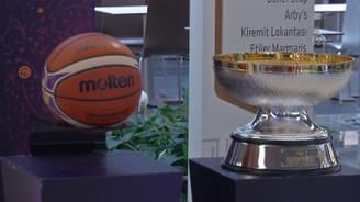 EuroBasket 2017 kupası sporseverlerle buluştu