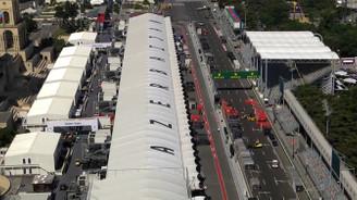 Azerbaycan Grand Prix'si hazırlıkları sürüyor