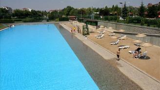 Eskişehir'de 'plaj sezonu' açıldı