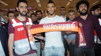 Galatasaray'ın yeni transferi Belhanda İstanbul'da