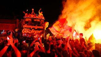 İzmir'de Göztepe coşkusu