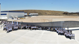 LM Wind Power, Bergama'daki fabrikasında üretime başladı