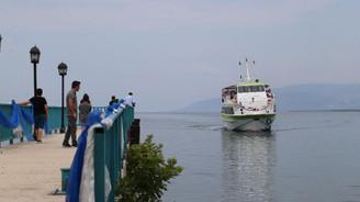 İznik'te 'Mavi Tur' sezonu başladı