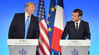 Macron'dan Trump açıklaması
