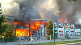 Çerkezköy OSB'de yangın