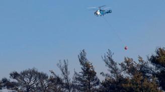 İzmir'de orman yangını: 13 hava aracı müdahale ediyor