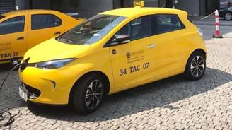 İstanbul'da elektrikli taksi dönemi resmen başladı