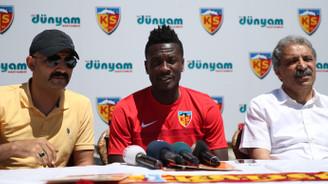 Kayserispor Asamoah Gyan ile sözleşme imzaladı