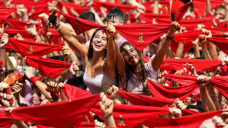 İspanya'da San Fermin Festivali başladı