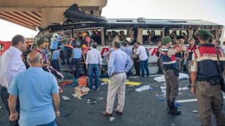Ankara'da otobüs kazası: 6 ölü