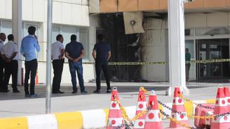 Van'da havalimanında yangın: 1 yaralı