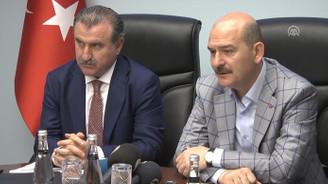 Bakan Soylu: Maç esnasında alınan tedbirler kısıtlıdır
