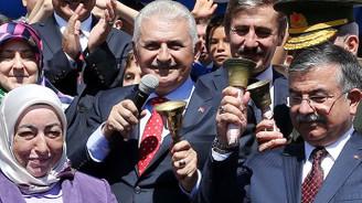 Başbakan ilk ders zilini Şanlıurfa'da çalacak