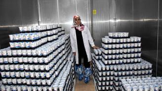 Muş'ta kurduğu fabrikada 20 kişiyi iş sahibi yaptı