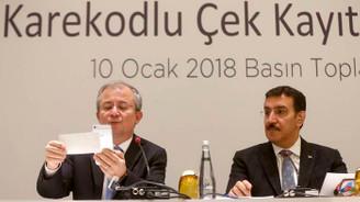Karekodlu Çek'e Kayıt Sistemi özelliği geldi