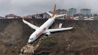 Trabzon'daki uçak kazası için soruşturma başlatıldı