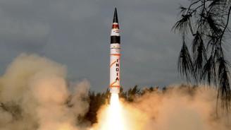 Hindistan'dan uzun menzilli balistik füze denemesi