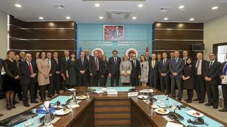 Zeybekci AB ülkelerinin büyükelçileriyle görüştü