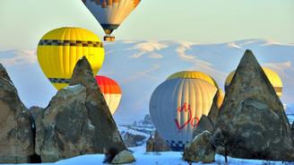 Kapadokya yarıyıl tatiline hazır