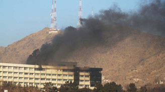 Afganistan'da otele terör saldırısı